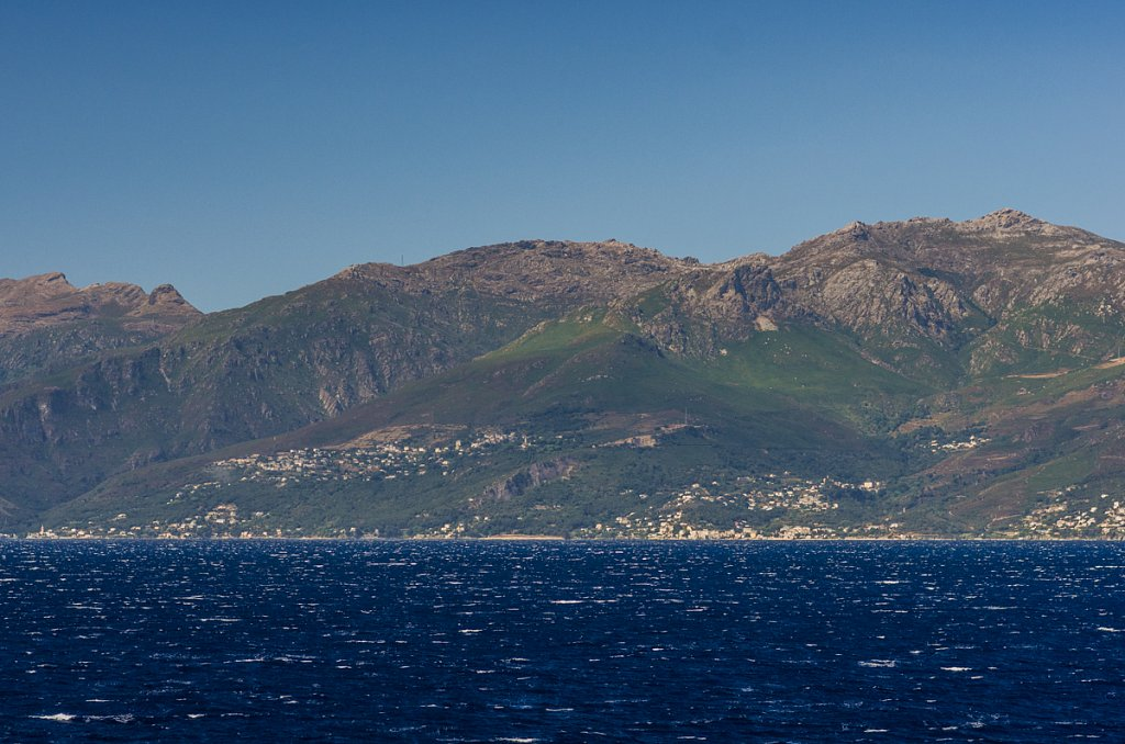 Küste nördlich von Bastia