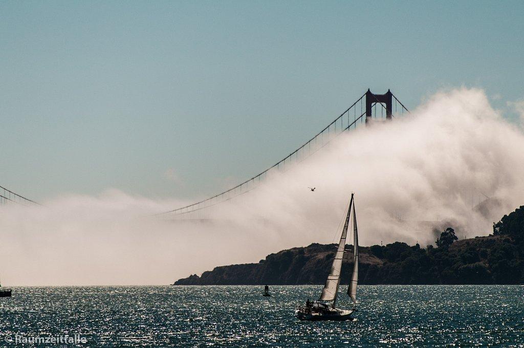 Hidden Golden Gate Bridge