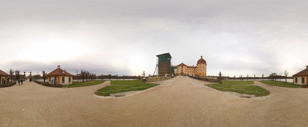 Schloß Moritzburg Panorama, 360°