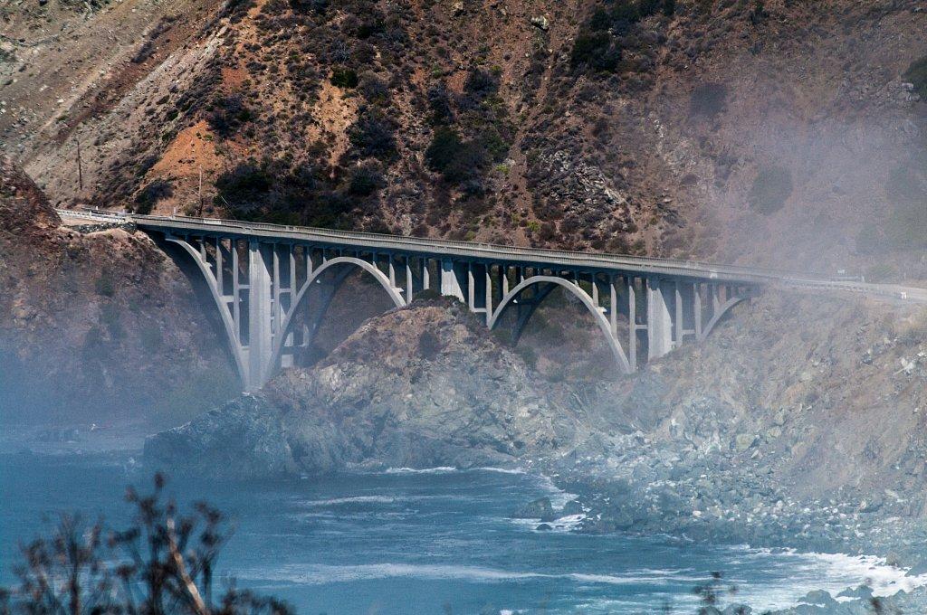Cabrillo Highway Big Creek Bridge