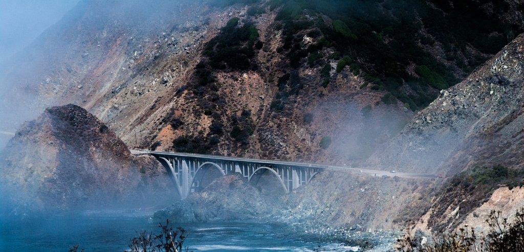 Cabrillo Highway Big Creek Bridge #2