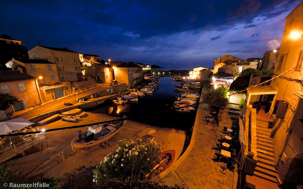 Centuri Port after Sunset