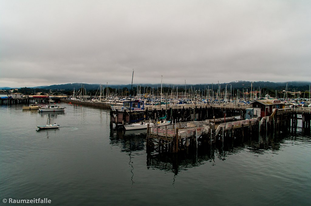 Cloudy Sky over Monterey