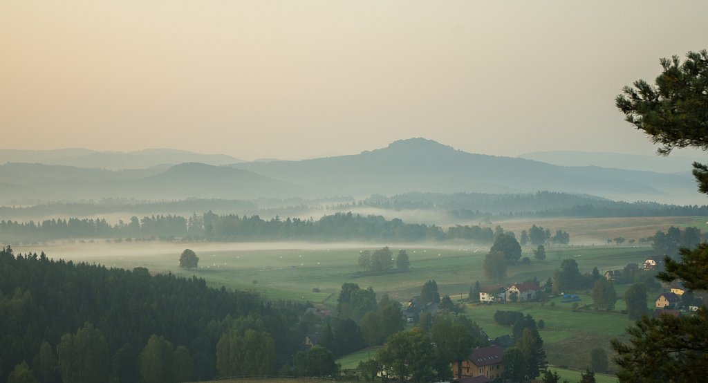 Morgennebel - Morning Fog - Ranní mlha