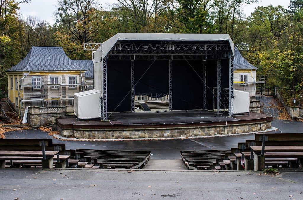 Freilichtbühne - ohne Gäste