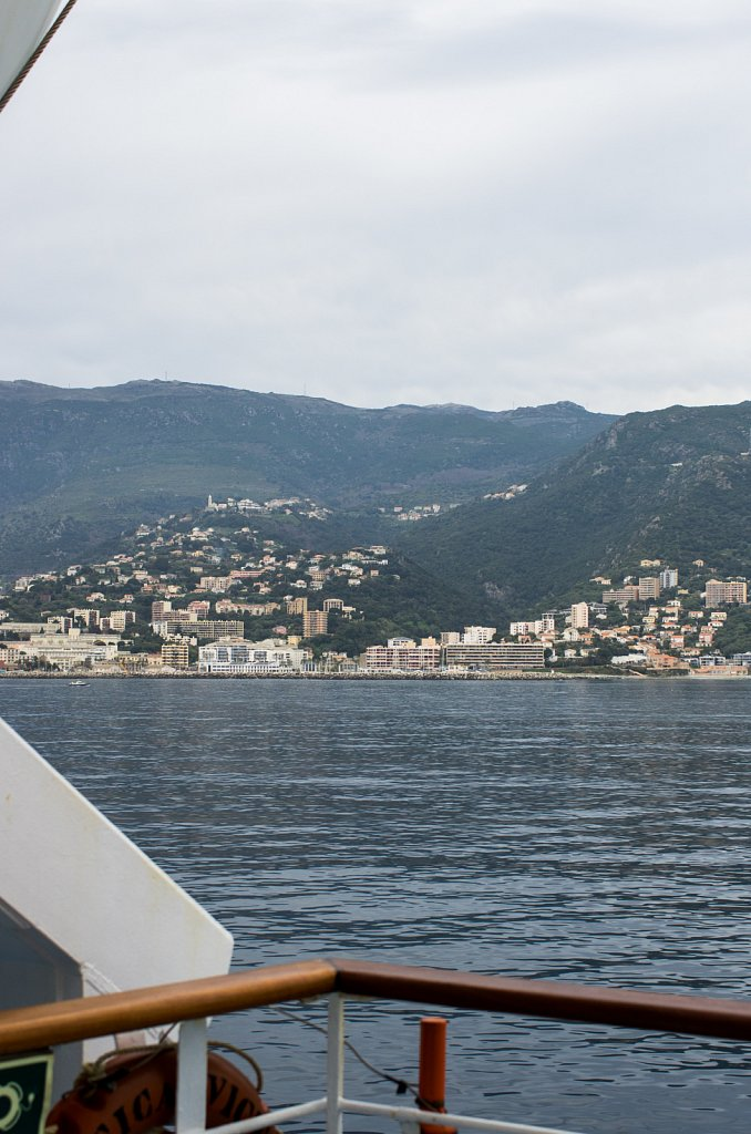 Leaving Corsica is always the hardest part